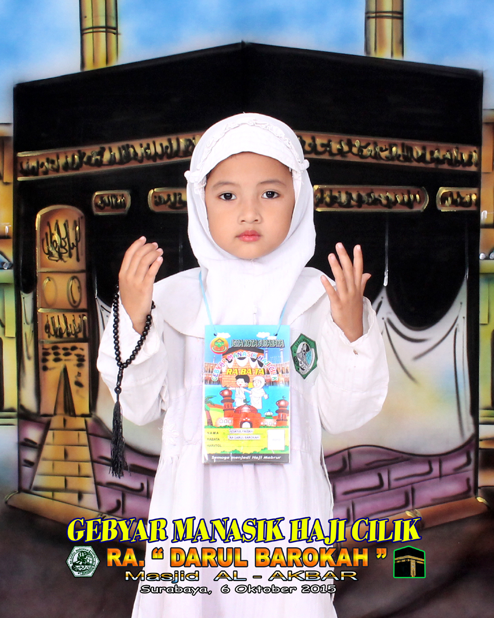 Gambar Orang Manasik Haji Background Foto 25x3m Pro Art Photo Video Studio Anak