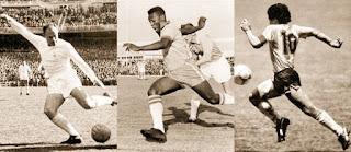 Di Stéfano, Diego Maradona (El Pelusa), Edson Arantes Do Nascimento (Pelé)