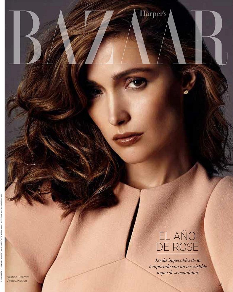 Rose Byrne on Cover for Harper's Bazaar Latin America ...