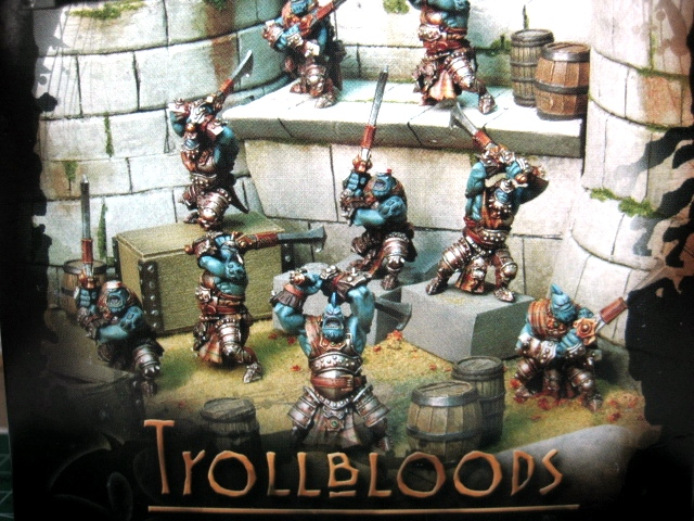Trollkin FennBlades Unit - unboxing and basing photo