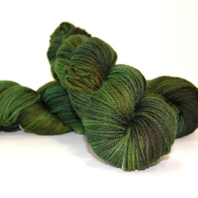 Makers' Monday, St. Patricks Day celebration of yarn dyers and spinners