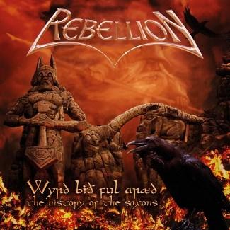 """Ακούστε τον δίσκο των Rebellion """"The History of the Saxons"""""""