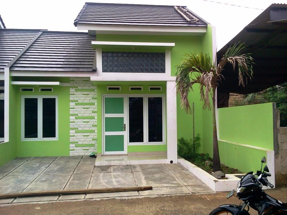395+ Foto Desain Rumah Warna Hijau Paling Hist