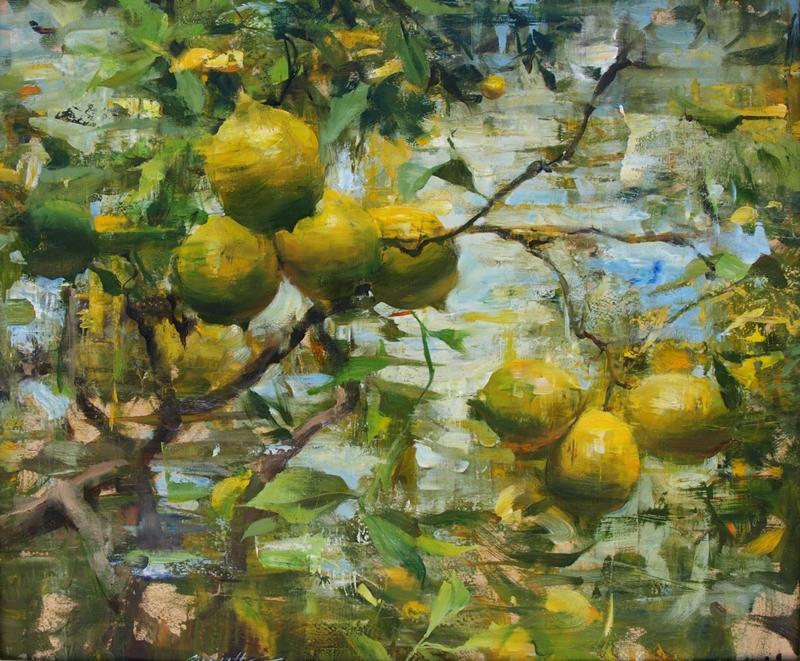 Quang Ho 1963 | Vietnamese-born American Impressionist painter