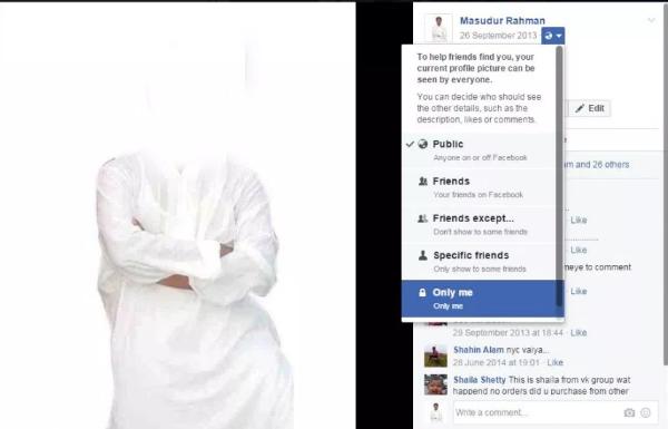 Cara Mengunci dan Menyembunyikan Gambar Profil di Facebook  4