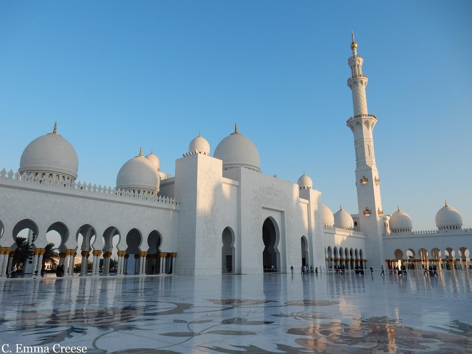 Amazing Architecture Adu Dhabi Grand Mosque