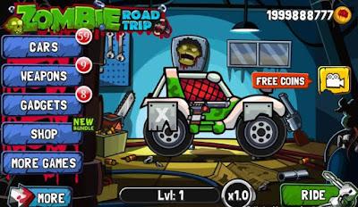 Zombie Road Trip Mod Apk game