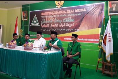 GP Anshor Catut Abuya Al-Maliki Dalam Keputusan Kepemimpinan Non Muslim, Ini Sikap Hai'ah Ash-Shofwah