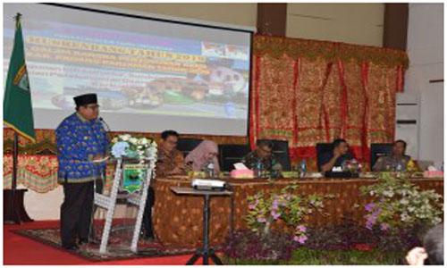 Suhatri Bur:Musrenbang RKPD  Padang Pariaman Merupakan Tolak Ukur wujudkan Visi Misi Kabupaten Padang
