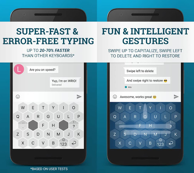 WRIO Keyboard +Emoji APK Free Download