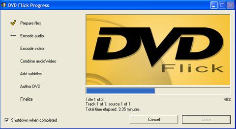 Φτιάξτε δωρεάν από τα βίντεό σας DVD για οποιονδήποτε player