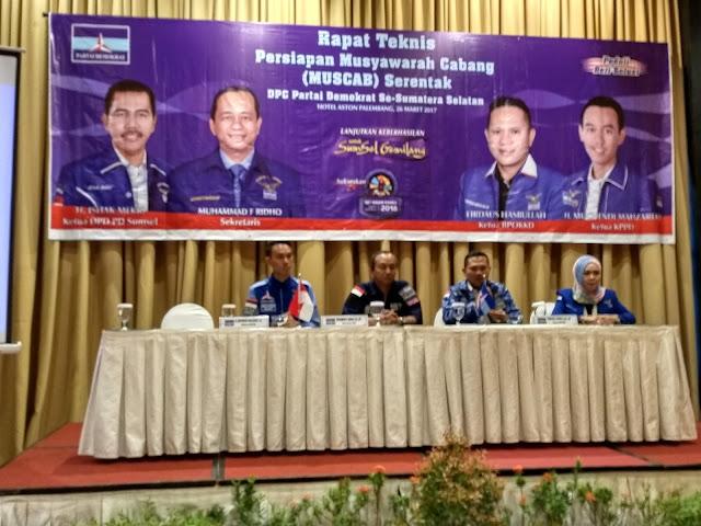 DPD Sumsel Gelar Muscab Serentak Dua Gelombang