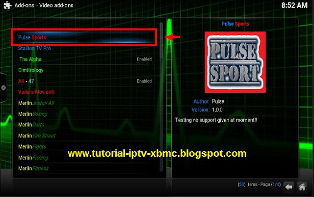 how to install pulse build on kodi kyocera