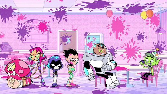 "NewtCave: Recap: Teen Titans Go! ""Pie Bros""