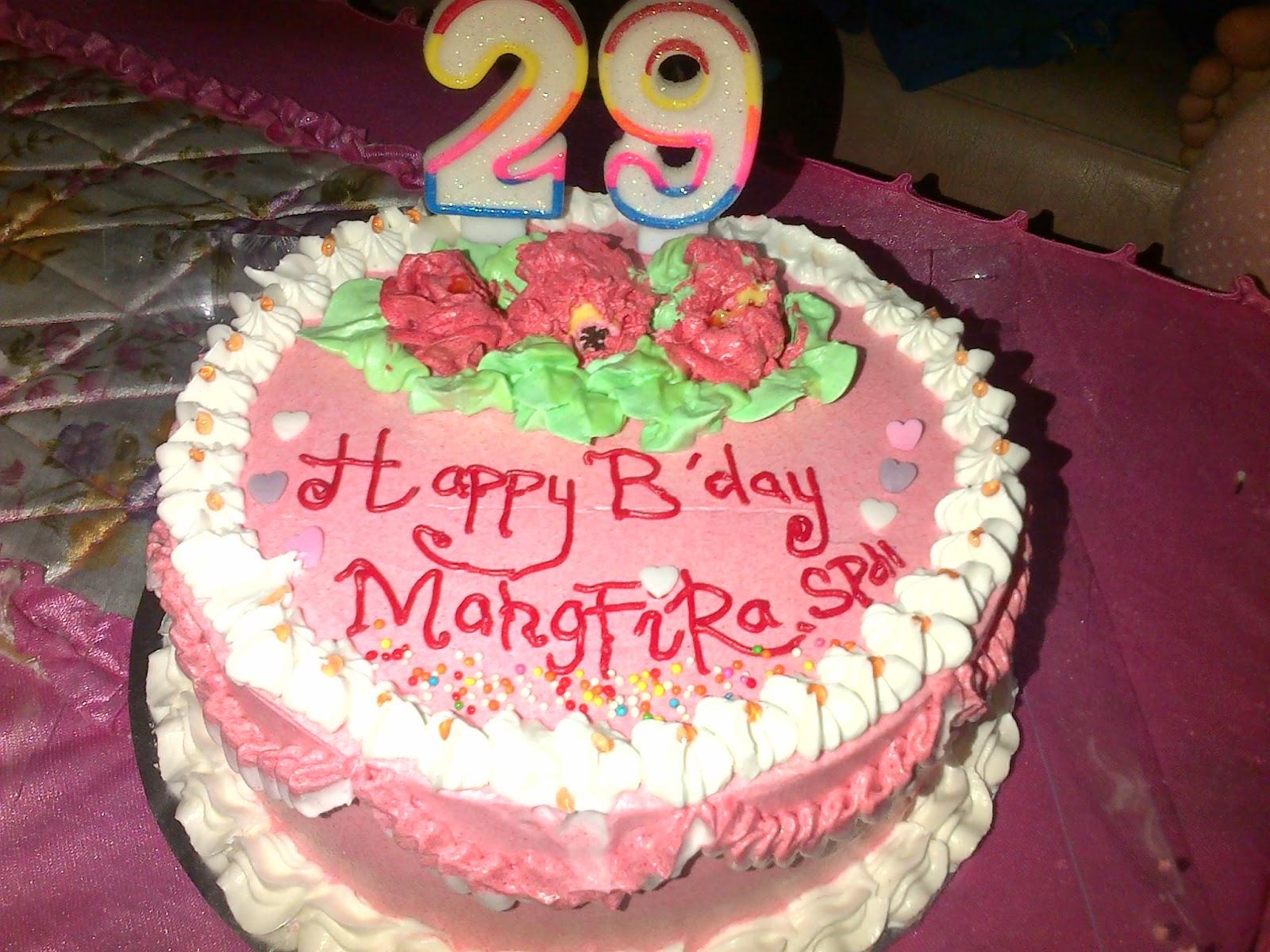 Kue ulang Tahun Untuk Istriku Mahgfirah
