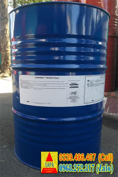 Polypropylene Glycol (PPG) - VORANOL™ 8010 Polyol