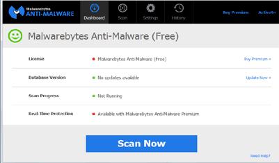 تحميل برنامج حذف الفيروسات MAlwarebytes AntiMalwar للكمبيوتر