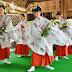小学校女子豊栄舞奉納 白山神社