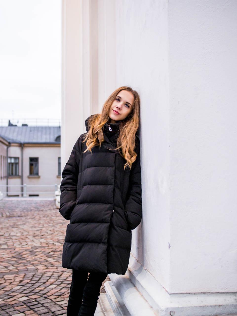 How to wear a puffer coat - Kuinka pukea toppatakki tyylikkäästi