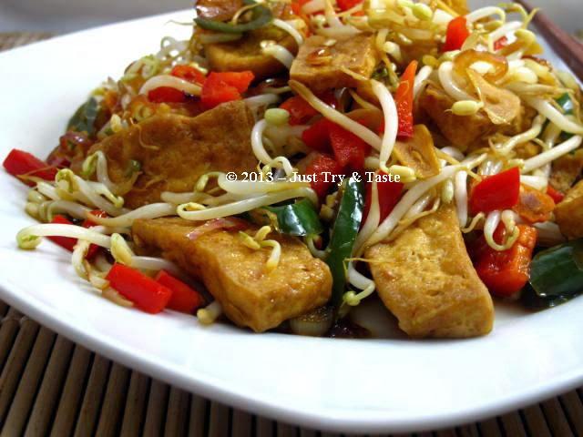 Tumis Tahu Tauge Dengan Soy Sauce Just Try Taste