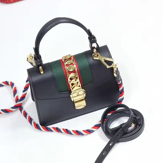a73a480c5d2 Gucci Sylvie Leather Mini Bag 470270