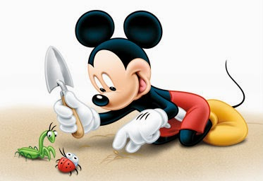 mickey mouse and ladybug