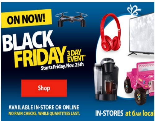Walmart's Black Friday Event