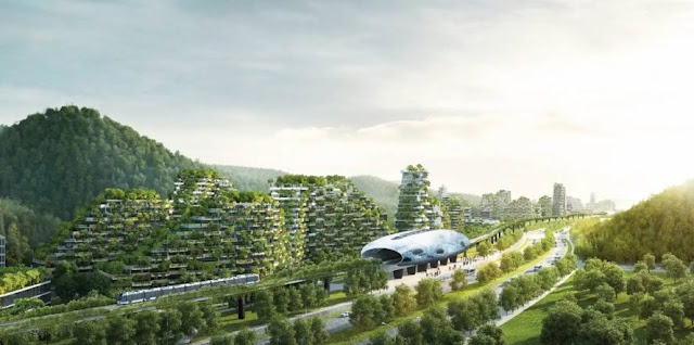 China Started To Build A Forest City To Provide Clean Air