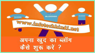 start your own blogger blog in hindi