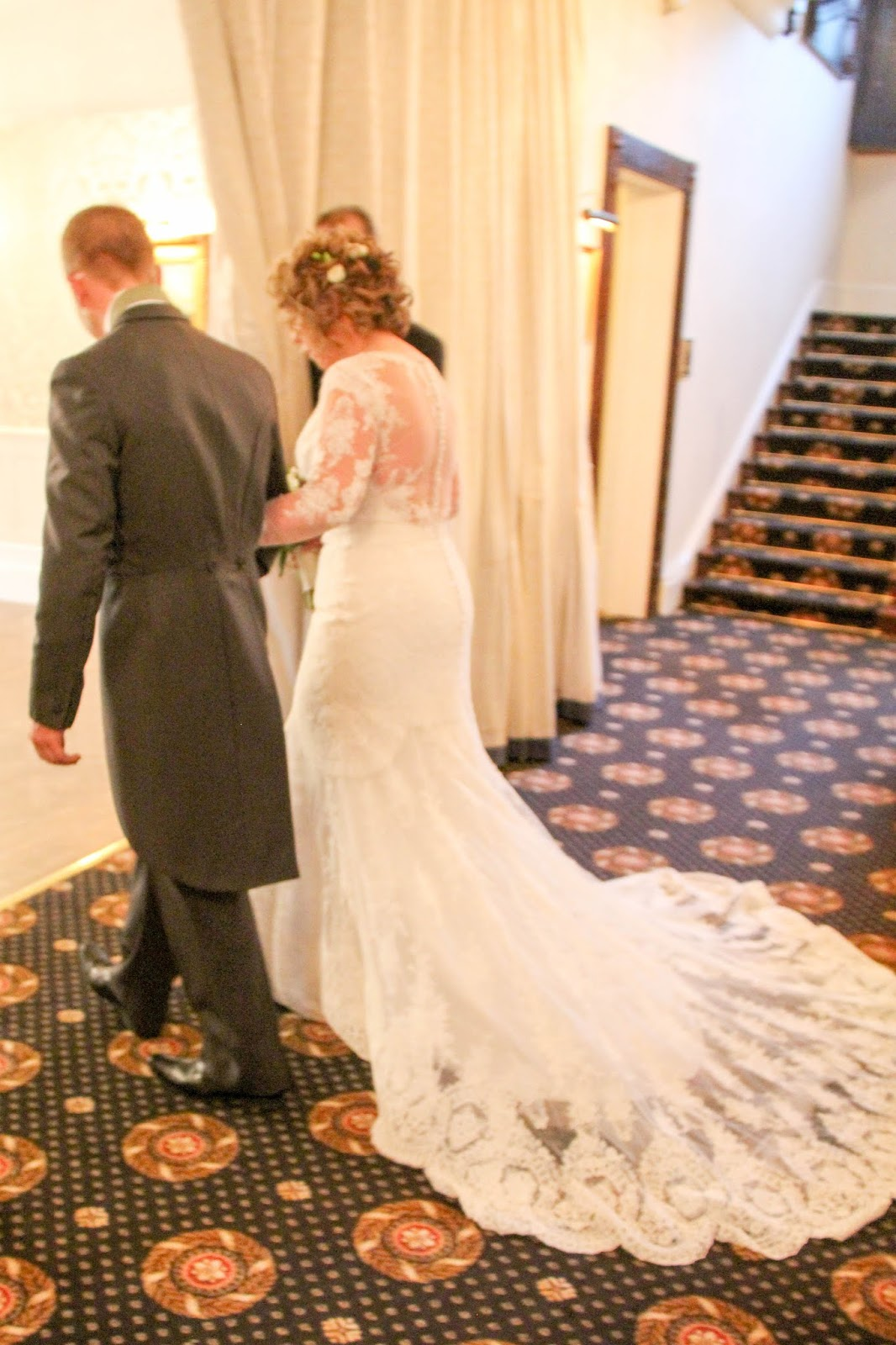 winters dream wedding day for sheila amp john at bartle hall