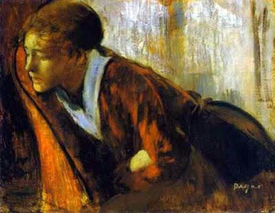 """Edgar Degas, """"Melancolía"""""""