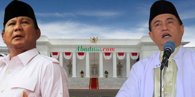 Prabowo-Yusril Unggul Telak dalam Polling yang Digelar PBB