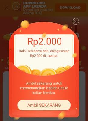 Cara mendapatkan Voucher gratis dari aplikasi Lazada Terbaru