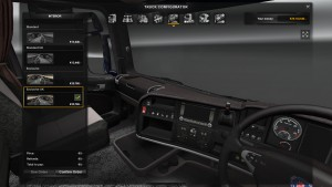 Leather Interior for Scania R