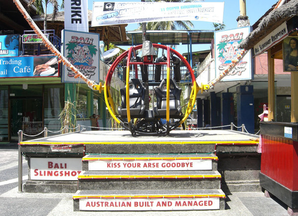 Bali slingshot di Kuta