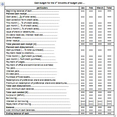 What is Budgeting for profit planning and Types of budget - Online Account Reading