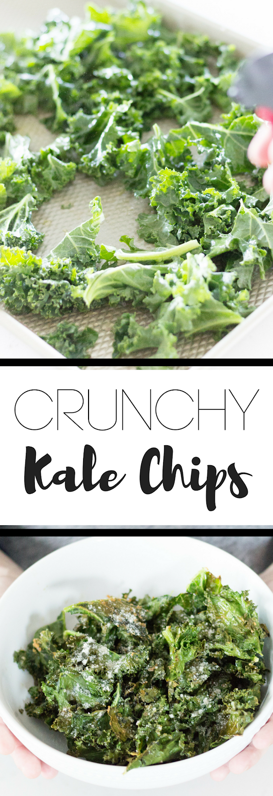 Here's the recipe you are looking for! The most perfectly easy kale chips. These oven baked kale chips are so versatile and are ready to go in 15 minutes!   kale chips, homemade chips, healthy chips, diet chips, healthy eating, flavor of life olive oil, extra virgin olive oil recipe, parmesan chips, salt and vinegar chips