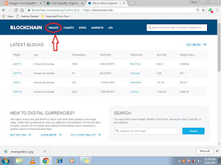 how to create bitcoin wallet on blockchain