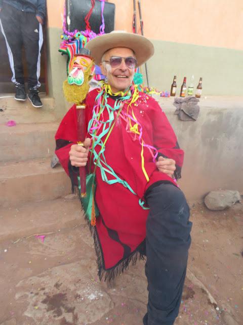 Der Padre als Karnevalspräsident