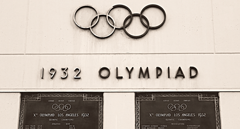 los angeles memorial coliseum 1932 olympics