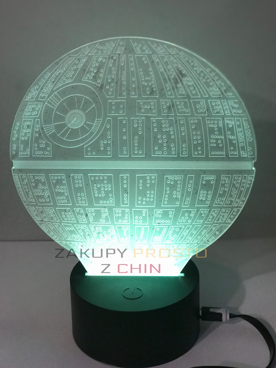 Lampka Led 3D Star Wars