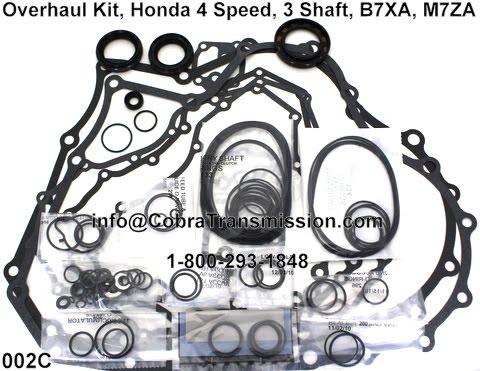 2002 Honda Accord Transmission Rebuild Kit