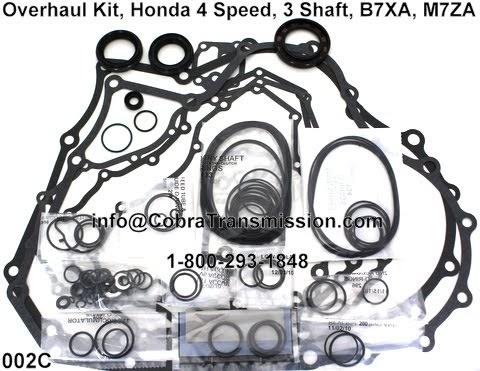 Cobra Transmission Parts 1-800-293-1848: Honda B7XA, M7ZA