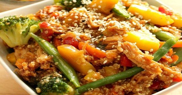 Chicken Teriyaki Casserole Recipe