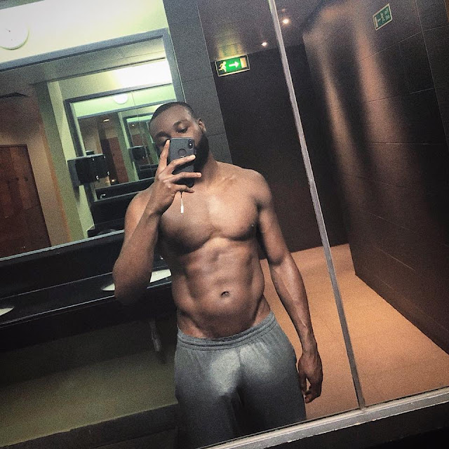 sexy black man, nude, muscles, abs, big black dick, JSol, JSOL Nude, BBC