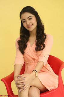 Rukshar Mir in a Peachy Deep Neck Short Dress 036.JPG