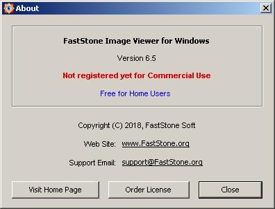 FastStone Image Viewer 6 5 few crashes