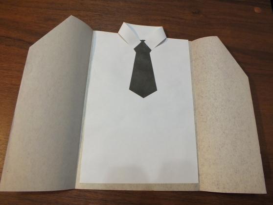 Поделка папе на 23 февраля: делаем открытку-аппликацию