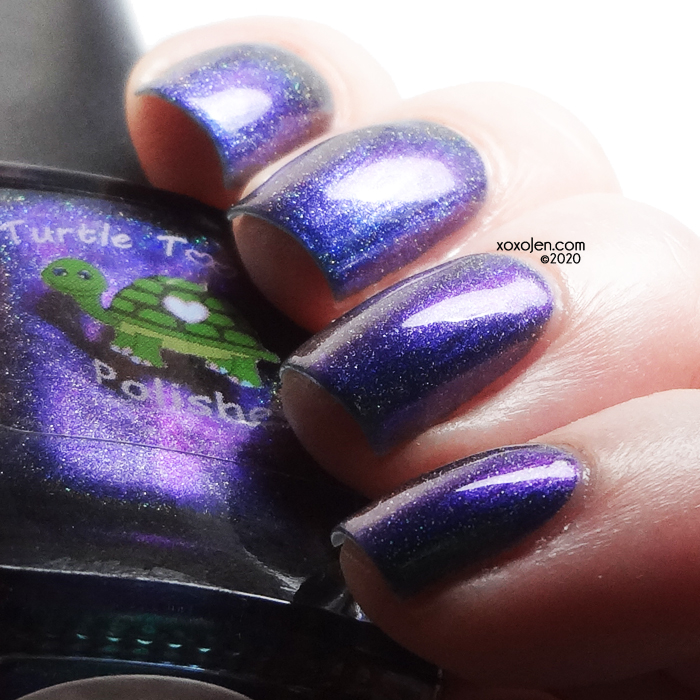 xoxoJen's swatch of Turtle Tootsie Cheers to 5 Years!