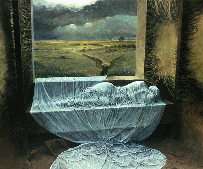 El nostromo peregrino zdzislaw beksinski for Original sculptures for sale